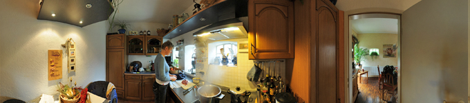 360° kitchen panorama private kitchen