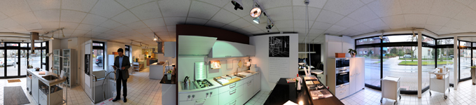 360° kitchen panorama kitchen shop
